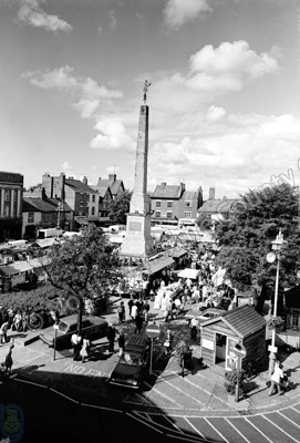 Market Place and Obelisk, Ripon